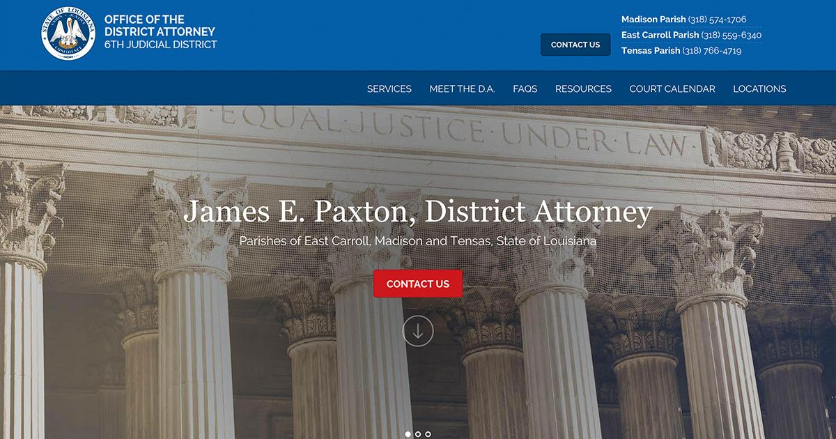 Office of the District Attorney 6th Judicial District