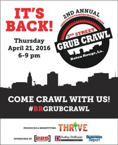 3rd Street Grub Crawl Safe Ride Home