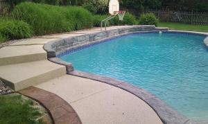 hallmark pool deck