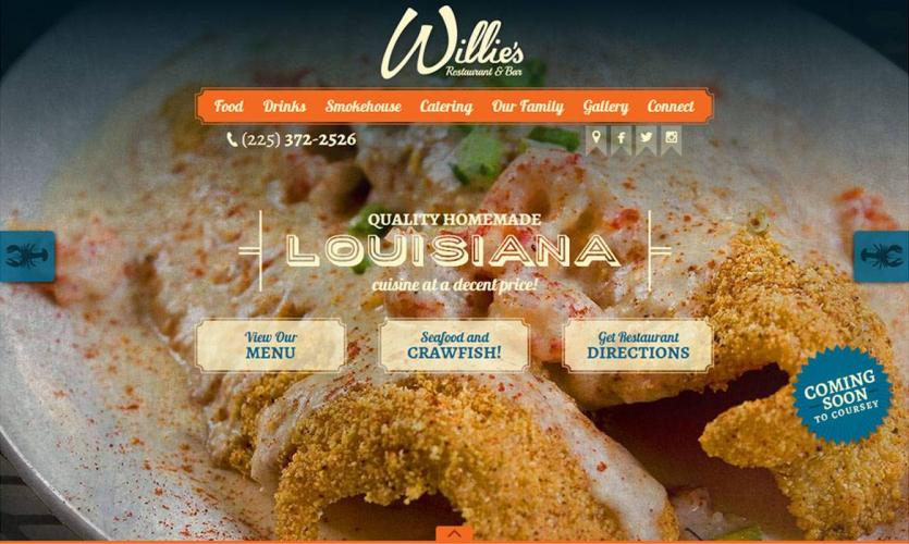 willies_site Website Home