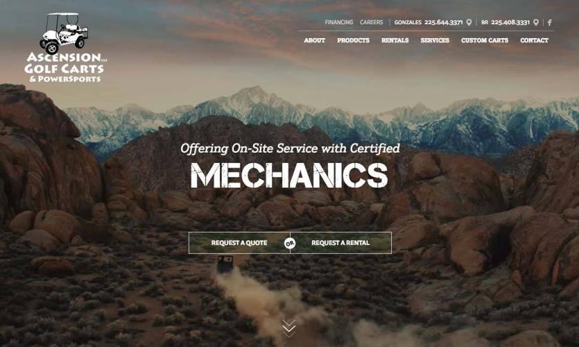 asc_golf_carts Website Home
