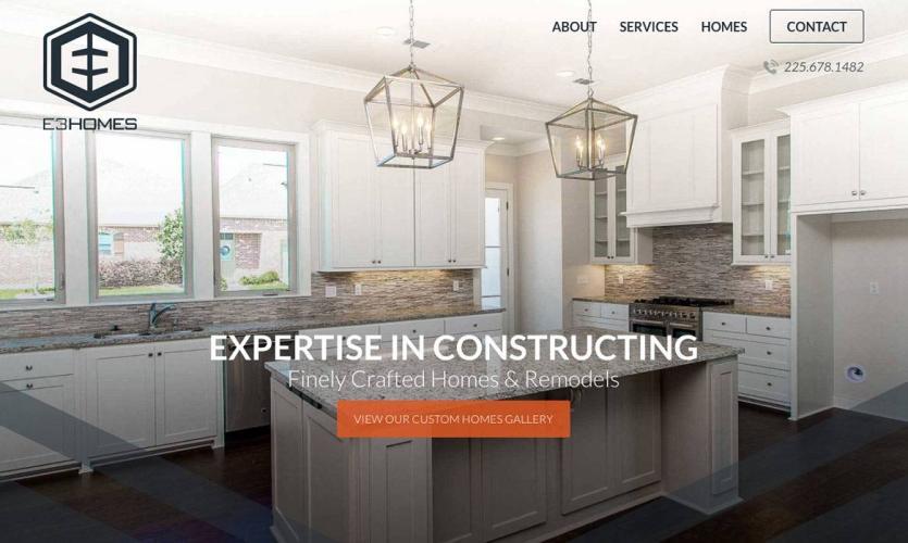 e3-homes Website Home