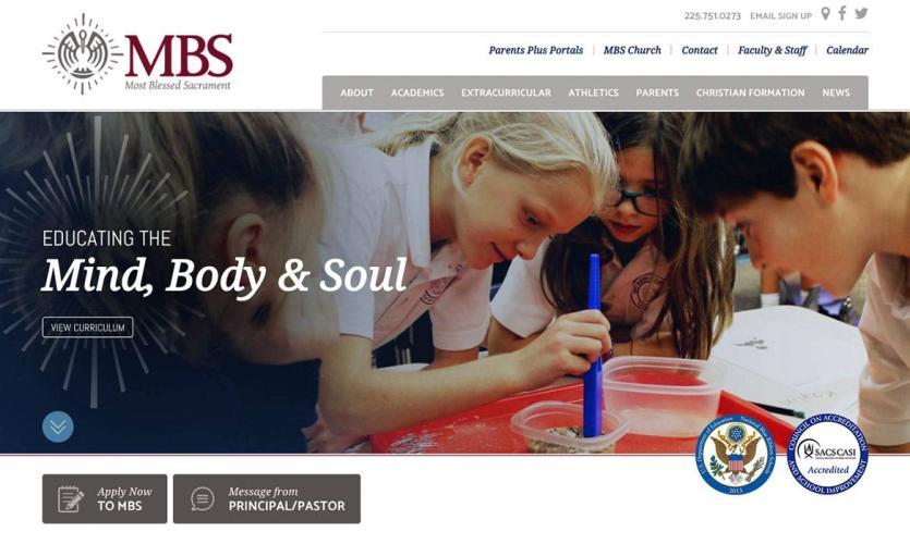 mbs-school Website Home