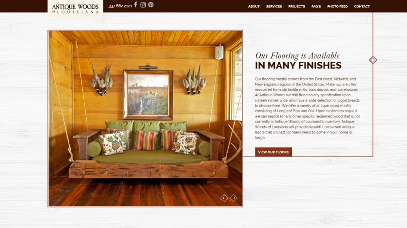 antique_woods Website 2